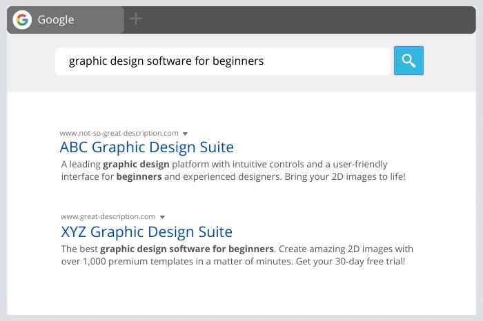 Google Bolds Meta Description Keywords